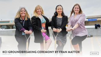 KCI Groundbreaking Ceremony by Fran Mattox
