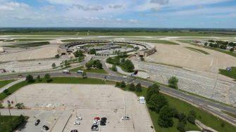 KCI Airport Terminal A Garage Demolition