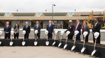 Wheels Up Single Terminal Groundbreaking