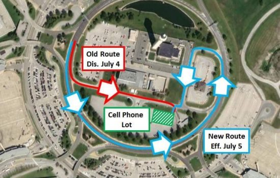 Cell Lot Entrance Change